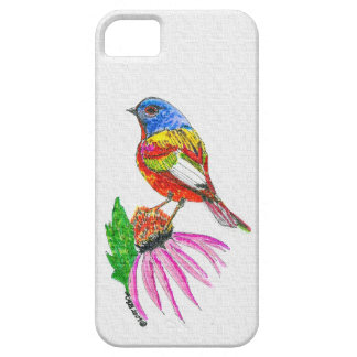 """Little Bird Of Many Colors (A)"" iphone Case"