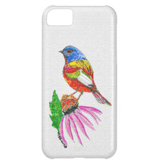 """""""Little Bird Of Many Colors (A)"""" iphone Case"""