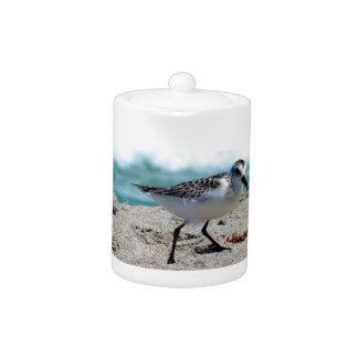 Little Bird on the Seashore Teapot