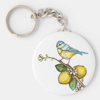 Little Bird on Tree Keychain