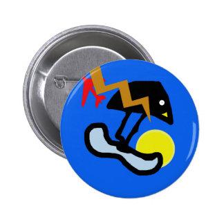 Little bird pinback button