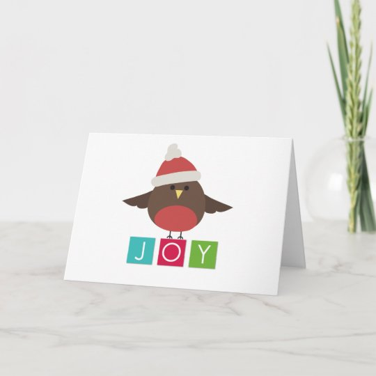 little bird simple christmas cards