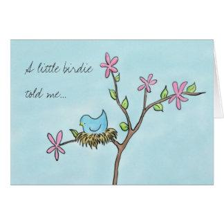 Little Birdie Greeting Cards