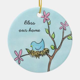 Little Birdie Ceramic Ornament