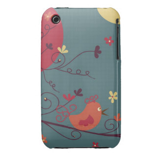 """Little Birdie chirping """"Hello"""" Case-Mate iPhone 3 Cases"""