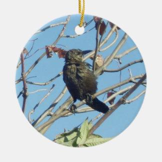 Little Birdie in a Tree Memorial Ornament