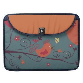 "Little Birdie Macbook Sleeve 15"" - customizable Sleeves For MacBook Pro"