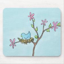 Little birdie mousepad