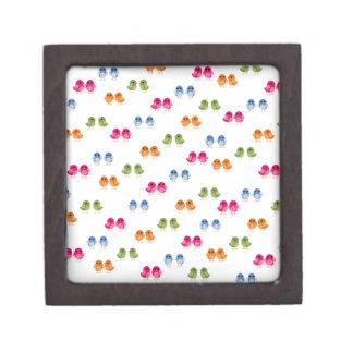 Little Birdie Pattern Jewelry Box