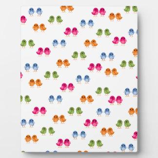 Little Birdie Pattern Plaque