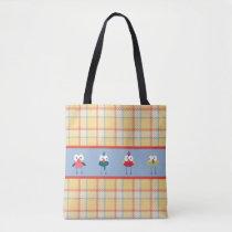 Little Birdies Custom All-Over-Print Tote Bag