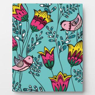 Little birdies plaque