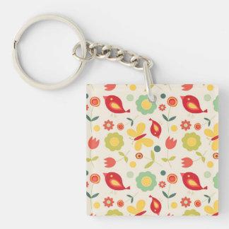 Little birds keychain