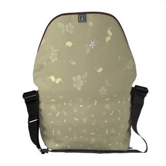 Little Birds on Beige Commuter Bags