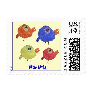 little birds postage