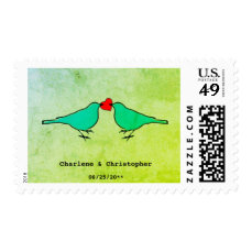 Little Birds Wedding Postage