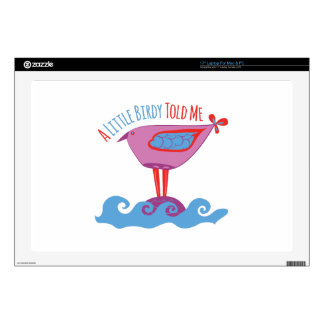 "Little Birdy 17"" Laptop Decal"