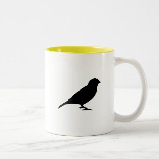 LITTLE BIRDY Two-Tone COFFEE MUG