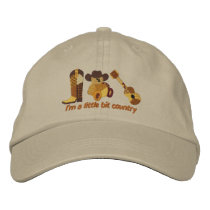 Little Bit Country Embroidered Baseball Hat