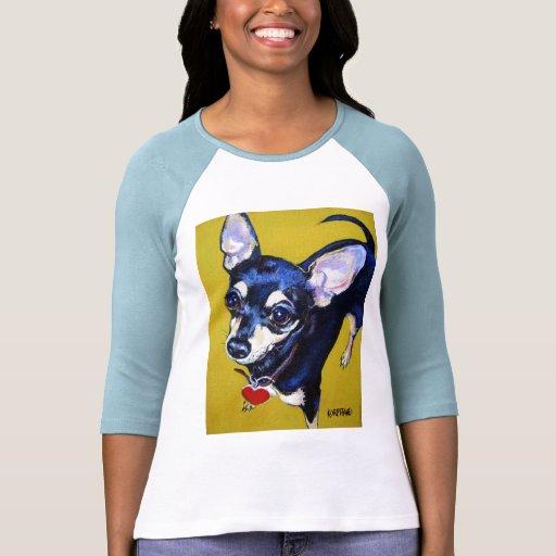 Little Bitty Chihuahua - Black and Tan Chihuahua Shirt