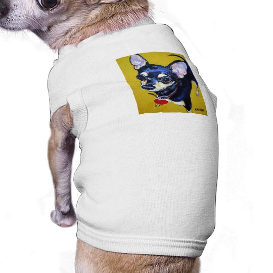 Little Bitty Chihuahua - Black and Tan Chihuahua Tee