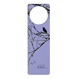 Little Black Bird Door Hangers