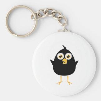 Little Black Bird Keychain