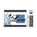 Little Black Bird Love Stamp