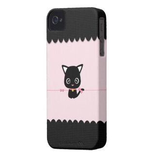 Little Black Cat for BlackBerry Bold iPhone 4 Case