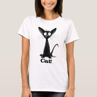 Little Black Cat T-Shirt