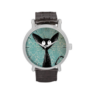 Little Black Cat Wristwatches