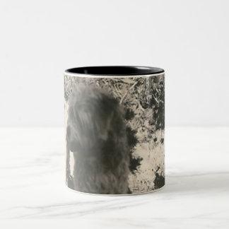 little black dog mug