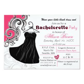 Little Black Dress Invitations Announcements Zazzle