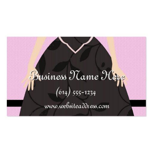 Little Black Dress Business Cards