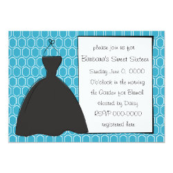 Little Black Dress Card