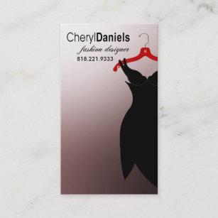 Fashion stylist mannequin couture business cards templates zazzle little black dress fashion designer stylist business card colourmoves