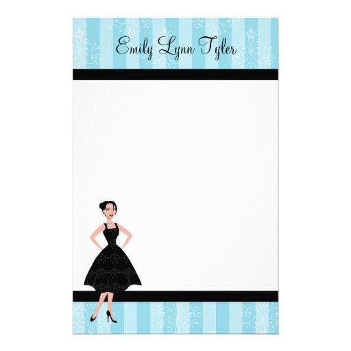 Little Black Dress Stationery Design