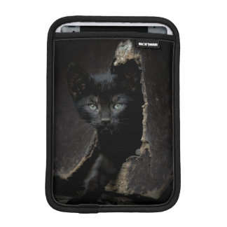 Little Black Kitty iPad Mini Sleeve
