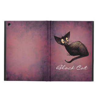 Little Black Oriental Cat iPad Air Cover