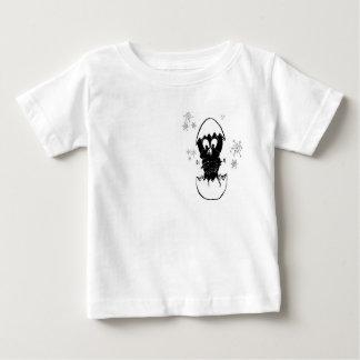 Little Black Parakeets Baby T-Shirt