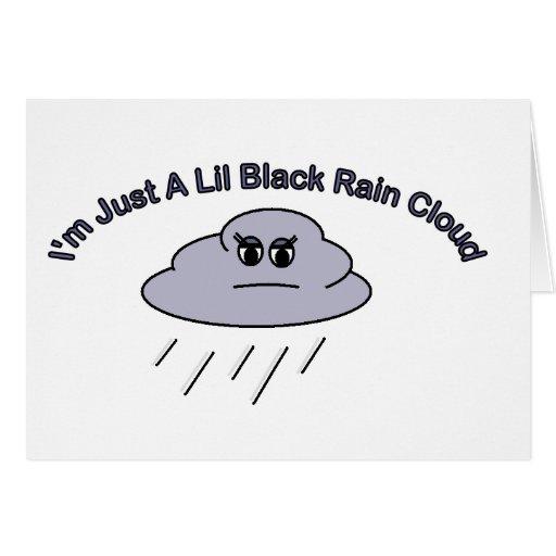 The Little Black Rain Cloud: Little Black Rain Cloud Card