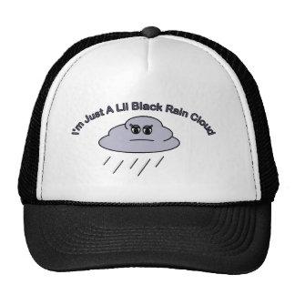 Little Black Rain Cloud Trucker Hat