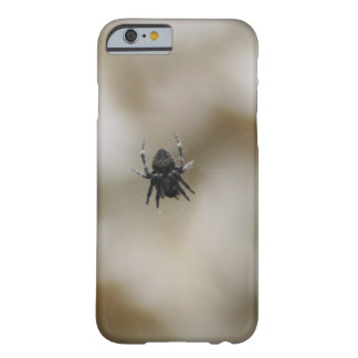 Little Black Spider Sitting on a Web Barely There iPhone 6 Case