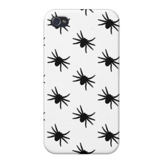 Little Black Spiders Case For iPhone 4