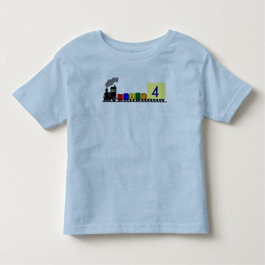 LITTLE BLACK TRAIN- BIRTHDAY -SHIRT TODDLER T-SHIRT