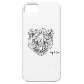 Little Blackwork Bear Phone Case