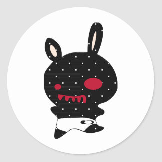 little blak devil sticker