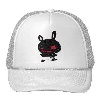 little blak devil trucker hat