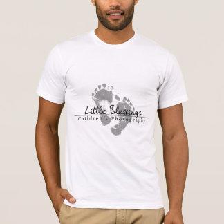 Little Blessings Children's Photography black logo T-Shirt