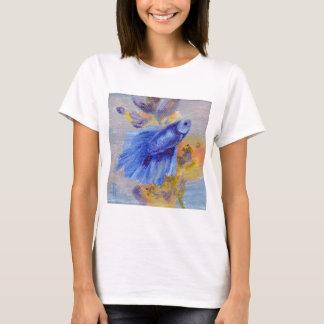 Little Blue Betta Fish T-Shirt